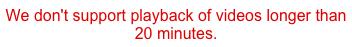 Amazon mag keine langen Videos