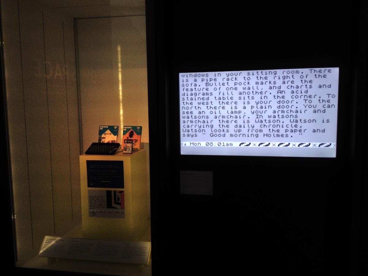 Alte Computerspiele mit London-Bezug
