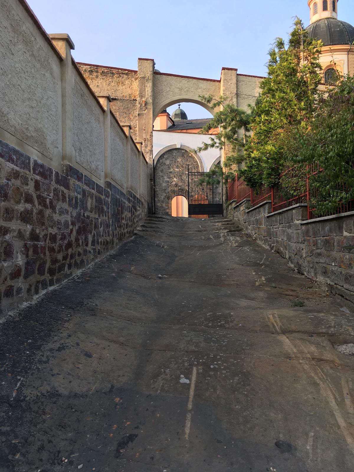 Weg zum Schloss