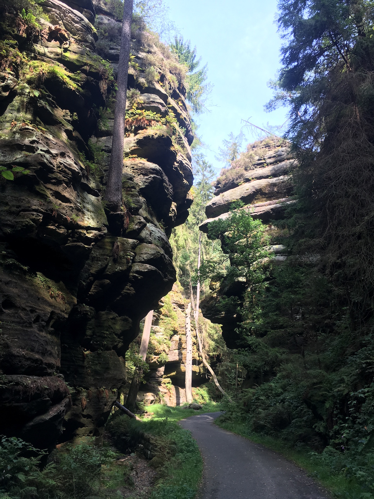 Weg zur Bastei
