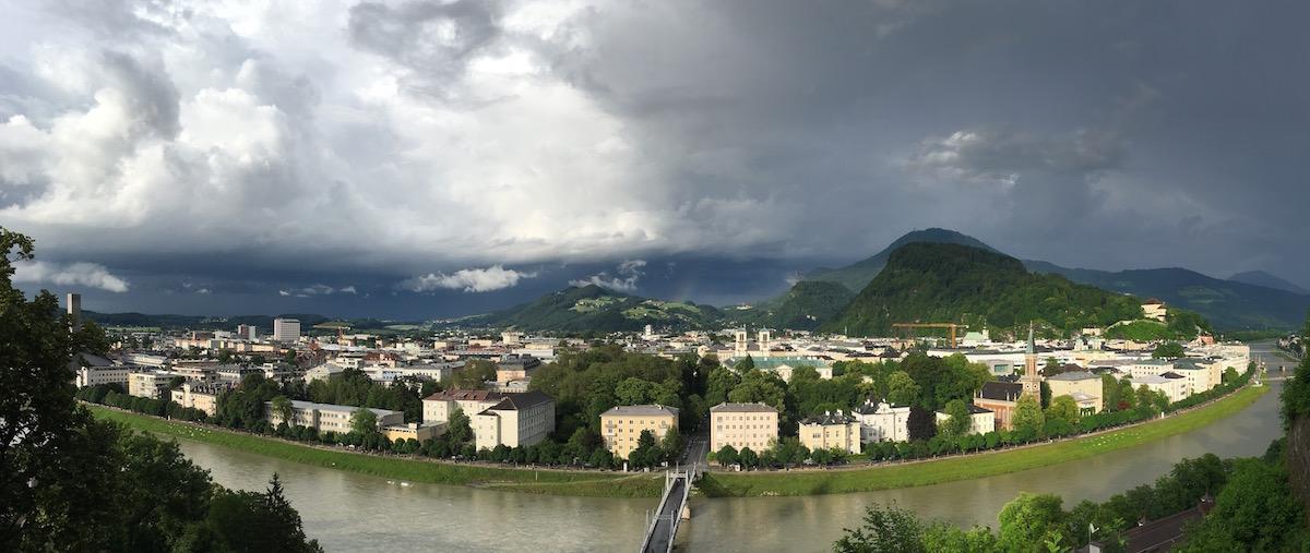 Blick auf Salzburg (Panorama)