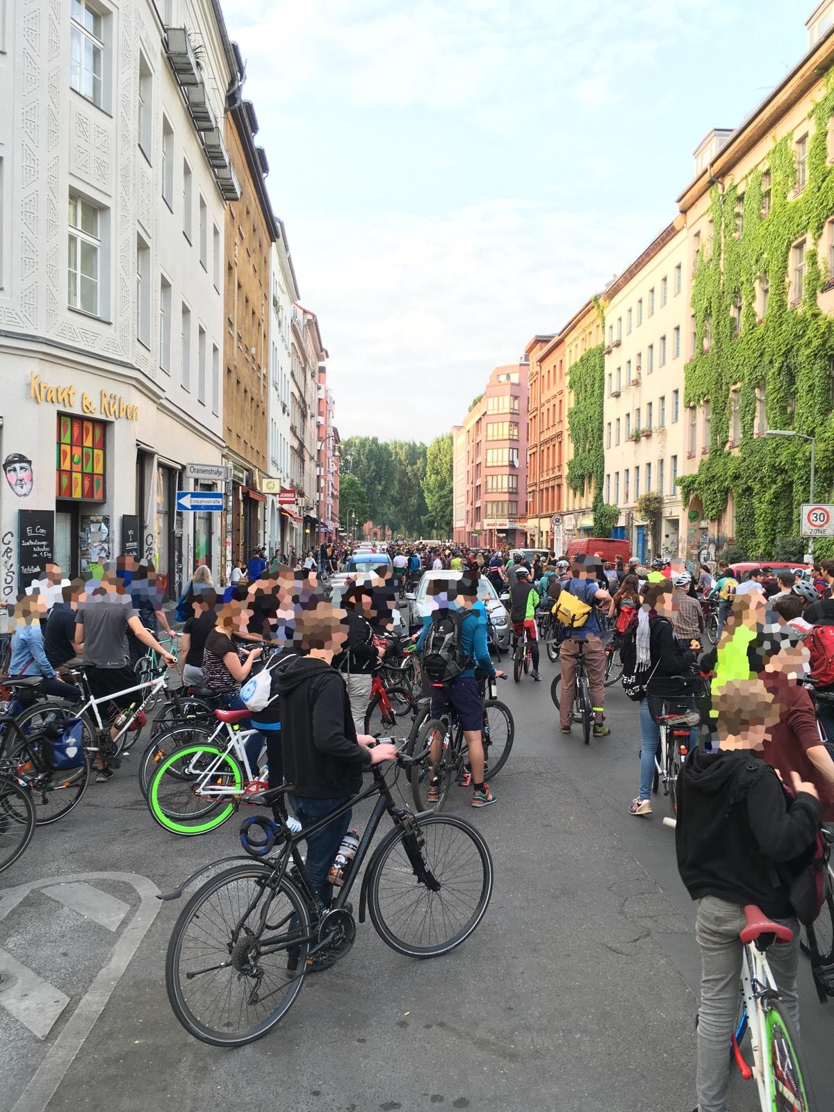 Sicht vom Heinrichplatz auf den Mariannenplatz