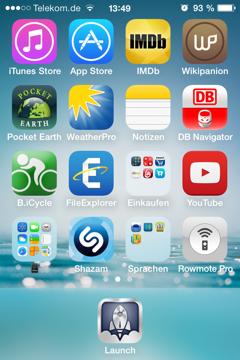 Homescreen 2 iOS 7
