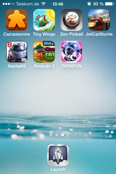 Homescreen 3 iOS 7