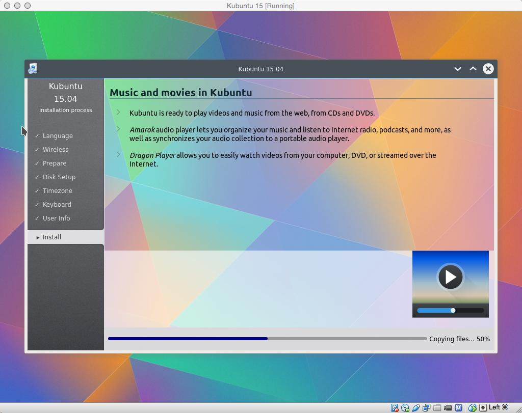 Kubuntu-Installationsprogramm