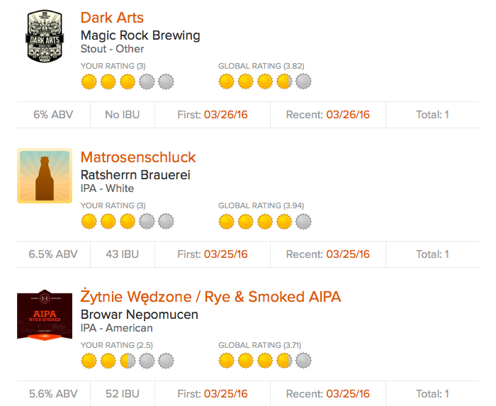 Magic Rock Dark Arts, Ratsherrn Matrosenschluck, Nepomucen Rye & Smoked AIPA